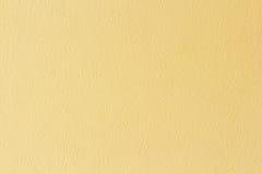 Gele concrete textuur Royalty-vrije Stock Foto's