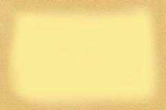 Gele document achtergrond Royalty-vrije Stock Fotografie