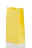 Gele document zak stock afbeeldingen