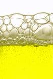 Gele drank royalty-vrije stock afbeelding
