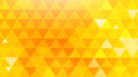 Gele driehoeksachtergrond Royalty-vrije Stock Foto's