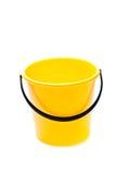 Gele emmer Stock Afbeeldingen