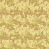 Gele en beige woestijncamouflage Royalty-vrije Stock Foto