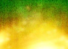 Gele en Groene Oude Grunge vervormt Rusty Beautiful Abstract Pattern Texture-Achtergrondbehang Royalty-vrije Stock Foto's