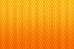 Gele en oranje abstracte achtergrond Royalty-vrije Stock Afbeeldingen