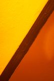 Gele en oranje kleuren royalty-vrije stock foto