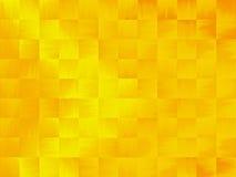 Gele en Oranje Samenvatting Stock Afbeeldingen