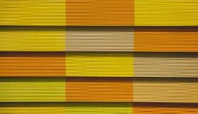 Gele en oranje textuur stock fotografie