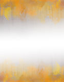 Gele en oranje waterverf abstracte textuur als achtergrond Royalty-vrije Stock Fotografie