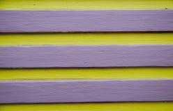 Gele en Violette Lijn Stock Afbeelding