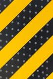 Gele en zwarte lijn Royalty-vrije Stock Foto