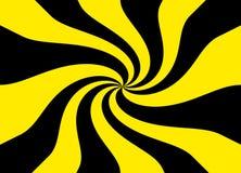 Gele en zwarte patroontextuur als achtergrond Stock Foto's
