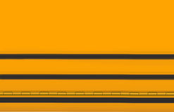 Gele en zwarte schoolachtergrond Stock Afbeeldingen