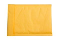 Gele envelop. Stock Afbeeldingen