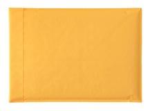 Gele envelop Stock Afbeelding