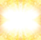 Gele Explosie Vector Illustratie
