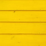 Gele gekleurde houten raad Abstracte 3D illustratie Textuur Stock Afbeelding