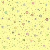 Gele geometrische abstracte achtergrond Royalty-vrije Stock Foto's