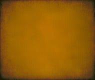 Gele geschilderde geribbelde het canvasachtergrond van de mosterd royalty-vrije stock afbeeldingen