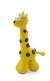 Gele giraf royalty-vrije stock foto