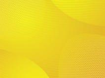 Gele golvende achtergrond stock illustratie