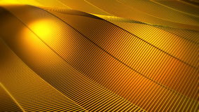 Gele Gouden Net Abstracte Achtergrond stock footage