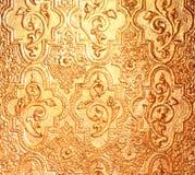 gele gouden textuur als achtergrond Royalty-vrije Stock Foto