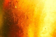 Gele Gouden van de aluminiumtextuur patronen als achtergrond royalty-vrije stock foto's