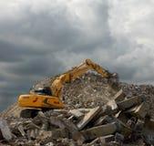 Gele graver Stock Fotografie