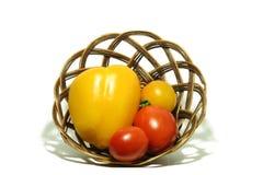 Gele groene paprika 4 Royalty-vrije Stock Foto