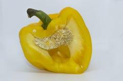 Gele Groene paprika stock fotografie