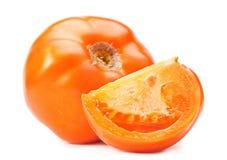 Gele grote tomaten Royalty-vrije Stock Foto's