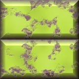 Gele grungeblokken Stock Afbeelding
