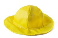 Gele hoed Royalty-vrije Stock Foto's