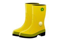 Gele Hoogste Laars stock illustratie
