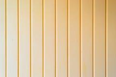Gele Houten Muurachtergrond Stock Afbeelding