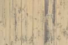 Gele houten raad Royalty-vrije Stock Foto's