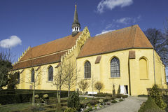 Gele Kerk Stock Foto