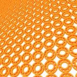 Gele lagers vector illustratie