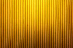 Gele lampschaduw Royalty-vrije Stock Foto's