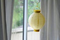 Gele lantaarn Stock Foto's