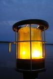 Gele lantaarn royalty-vrije stock foto's