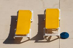 Gele longers royalty-vrije stock afbeelding