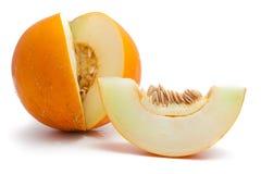 Gele meloen royalty-vrije stock afbeeldingen