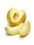 Gele meloen Royalty-vrije Stock Foto's