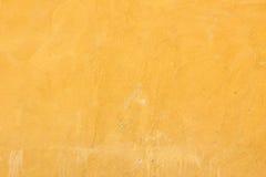Gele muur royalty-vrije stock afbeelding