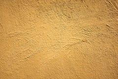 Gele muur Stock Foto's