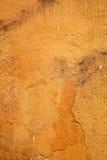 Gele muurachtergrond Royalty-vrije Stock Afbeelding