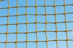 Gele netto Royalty-vrije Stock Afbeelding