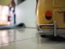 Gele Oude Taxi royalty-vrije stock foto